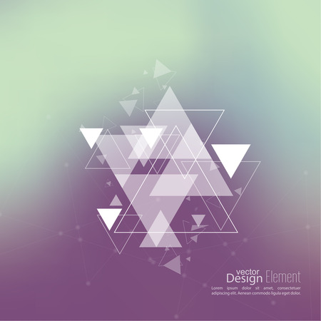 diamond background: Abstract blurred background with hipster triangles. Triangle pattern background. For cover book, brochure, flyer, poster, magazine, cd cover design, t-shirt