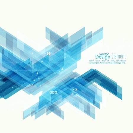 technologie: Résumé de fond avec des rayures bleues coin. Concept nouvelle technologie et le mouvement dynamique. Visualisation de données numériques. Pour livre à couverture, brochure, flyer, affiche, magazine, brochure, dépliant