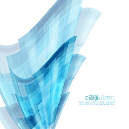 blue stripes: Abstract background with blue curved stripes. Technology and dynamic motion. rapid flow of information. Fast speed. smooth bend