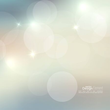 backdrop design: Abstract blurred vector background with sparkle stars. For decorations for Merry Christmas, New Year, anniversaries, festivals, birthday, xmas, glamour holiday, illuminated, celebration