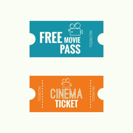 entrance sign: Entry ticket to old vintage style. Admit one theater, cinema, zoo, swimming pool, fair, rides, swing, amusement park, carousel. icon for online booking of tickets. Web and mobile app Illustration