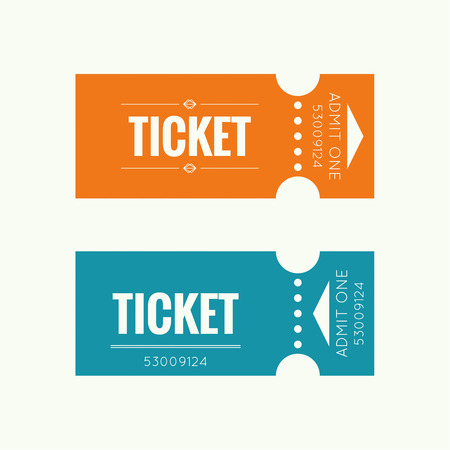 ticket icon: Entry ticket to old vintage style. Admit one theater, cinema, zoo, swimming pool, fair, rides, swing, amusement park, carousel. icon for online booking of tickets. Web and mobile app Illustration