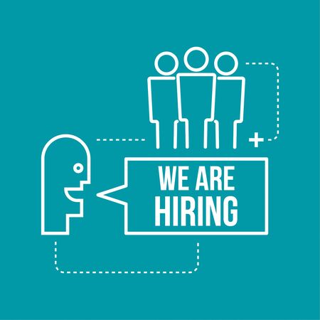 candidate: Recruitment. Concept search  better candidate for open position. We are hiring, hr.