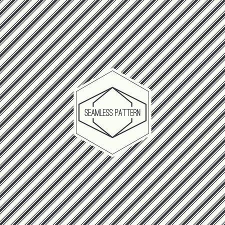 slant: seamless pattern with hipster vintage old banner. Repeating geometric shapes, diagonal stripe