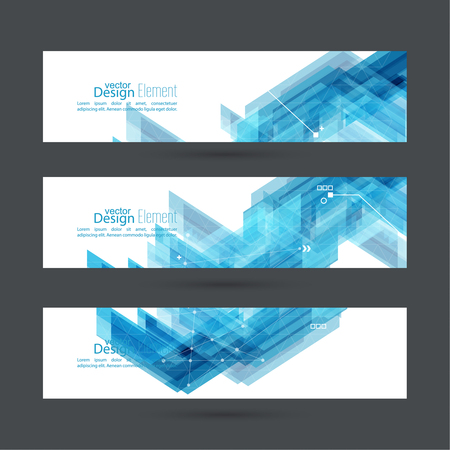 blue abstract: Abstract background with blue stripes corner. Concept new technology and dynamic motion. Digital Data Visualization. For cover book, brochure, flyer, poster, magazine, booklet, leaflet Illustration