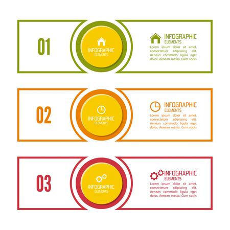Vergelijkende grafiek met banner voor presentatie, informatieve formulieren. Optie. Infographic voor het jaarverslag, statistieken, Infochart, reclame, web knop, uitleg. Proces stap voor stap. analyseren