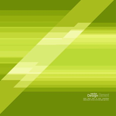 splinter: Abstract background with green stripes corner.