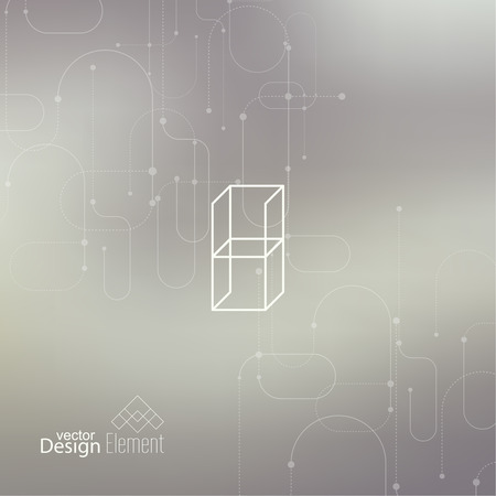 neat: Abstract neat Blurred Background. Illustration