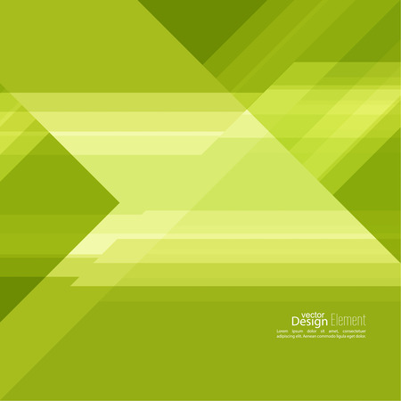 slant: Abstract background with green stripes corner.
