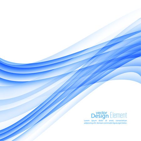 dynamic motion: Abstract background with blue stripes and curves. Concept new technology and dynamic motion. Digital Data Visualization. Annual Report with information  wave