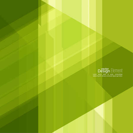 dynamic motion: Abstract background with green stripes corner. Concept new technology and dynamic motion.