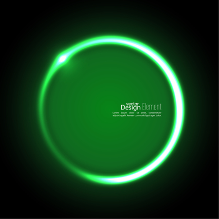 jade: Abstract background with luminous swirling backdrop. Intersection curves. Glowing spiral. The energy flow tunnel. Vector. green, jade, malachite Illustration