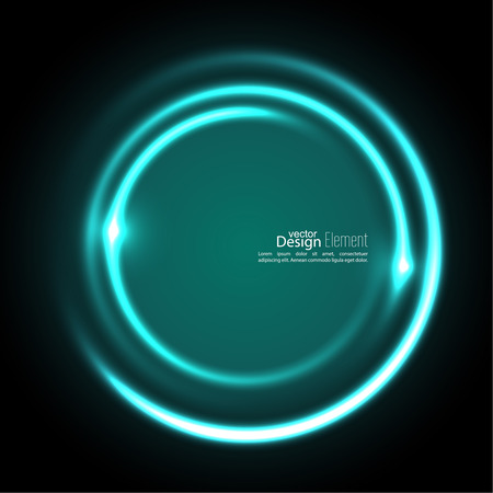 energy flow: Abstract background with luminous swirling backdrop. Intersection curves. Glowing spiral. The energy flow tunnel. Vector. turquoise,  aquamarine, green, Illustration