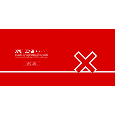 denial: Vector  background with check marks, ticks, x. checkbox. Web and mobile applications. rejection and form of access denial, refusing. red. template, layout Illustration