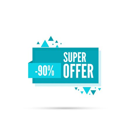 discount tag: Sale background. Sale tag. Sale banner. Sale vector. Vector tag. special offer, discount and percentages, price. discount tag. 90 percentage. Super offer