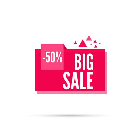 percentages: Sale background. Sale tag. Sale banner. Sale vector. Vector tag. special offer, discount and percentages, price. discount tag. 50 percentage. Big sale Illustration