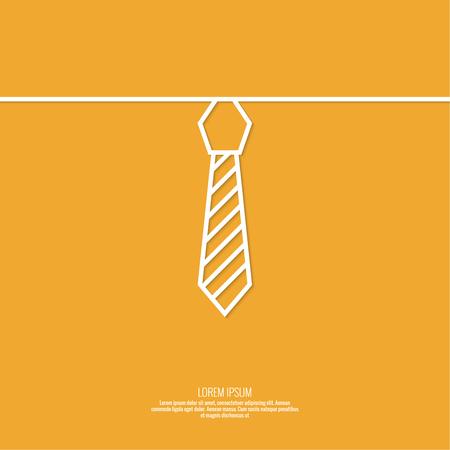 Resume De Fond Avec Des Hommes Cravate Icone De La Cravate Cravate