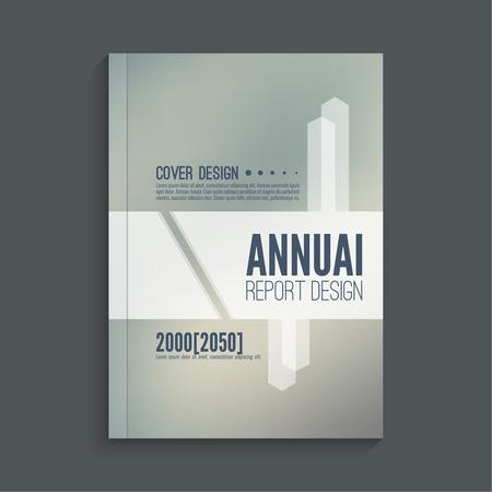 booklet design: Brochure annual report. Cover for journal, book, magazine. Leaflet  Flyer template A4 size design. Layout  dj poster, booklet, postcard. Blurred background. Vector Illustration
