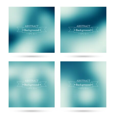 issue: Set of vector colorful abstract backgrounds blurred. For mobile app, book cover, booklet, background, poster,  backdrop, wallpaper, annual reports purple blue violet