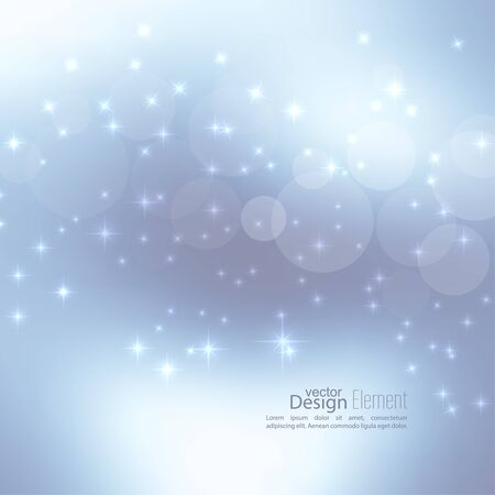 glare: Abstract blurred vector subtle background with  glare sparkle stars. For decorations for Merry Christmas, New Year, festivals, birthday, xmas, glamour holiday, illuminated, celebration Illustration