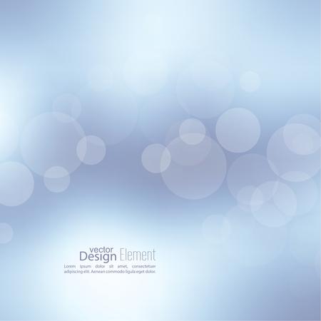Abstract background with bokeh effect. Vector delicate  backdrop. Gentle image blur. Subtle defocused wallpaper. Soft gradient. Vectores