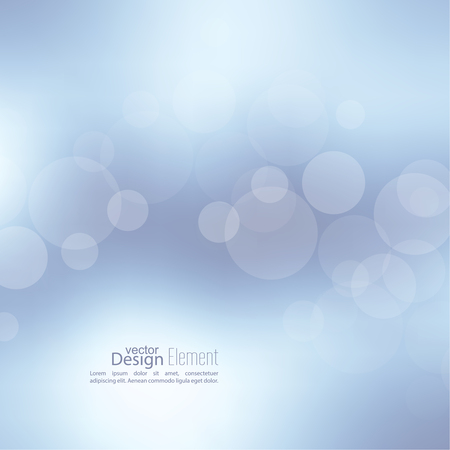 Abstract background with bokeh effect. Vector delicate  backdrop. Gentle image blur. Subtle defocused wallpaper. Soft gradient. Illustration