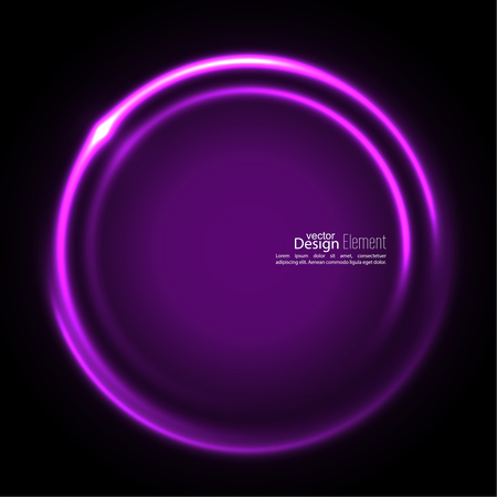 mauve: Abstract background with luminous swirling backdrop. Intersection curves. Glowing spiral. The energy flow tunnel. Vector. purple, lilac, mauve, violet magenta Illustration