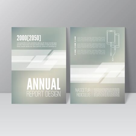 Brochure annual report. Cover for journal, book, magazine. Leaflet Flyer A4 size template design. Layout illustration poster, booklet, postcard. Vector. title flier headline Illustration