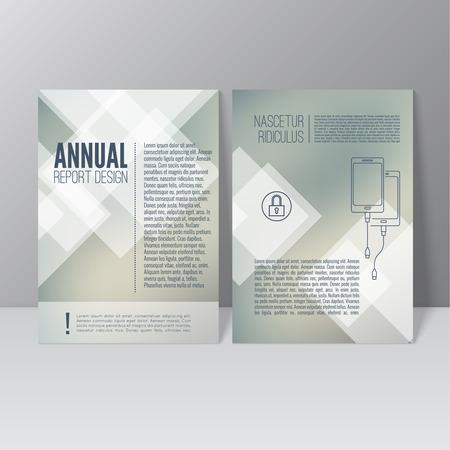magazine cover: Brochure annual report. Cover for journal, book, magazine. Leaflet Flyer A4 size template design. Layout illustration poster, booklet, postcard. Vector. title flier headline Illustration