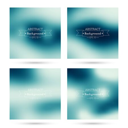 poster backgrounds: Set of vector colorful abstract backgrounds blurred. For mobile app, book cover, booklet, background, poster,  backdrop, wallpaper, annual reports purple blue violet