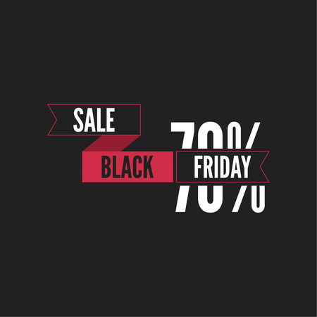 pricetag: Black Friday  final, big sale. Total discounts. Markdown cheap. Template for Banner or poster, pricetag, tag. Black Friday sale inscription design. Vector illustration