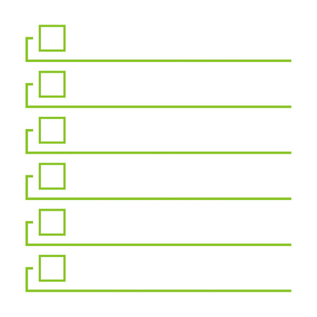 to do list lines with check boxes checklist for note consent