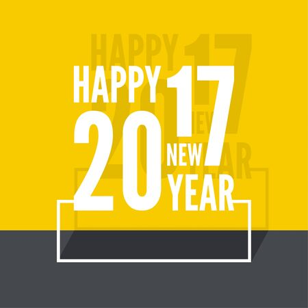 year: 2017 Happy new year