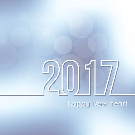 year: Happy New Year 2017.