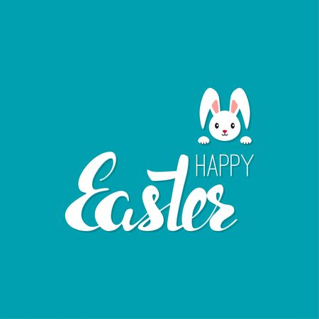 happy: Happy easter cards illustration