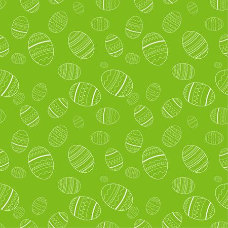 Easter seamless pattern. illustration Stock Photo