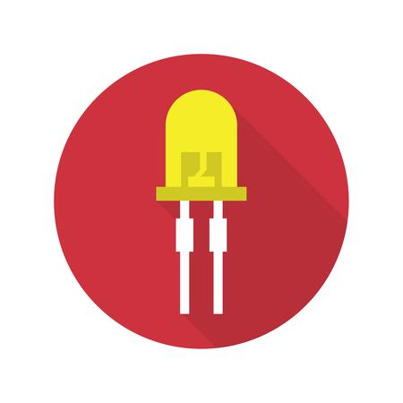 energysaving: light-emitting diode vector