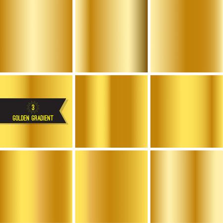 alloy: Set of gold foil texture.