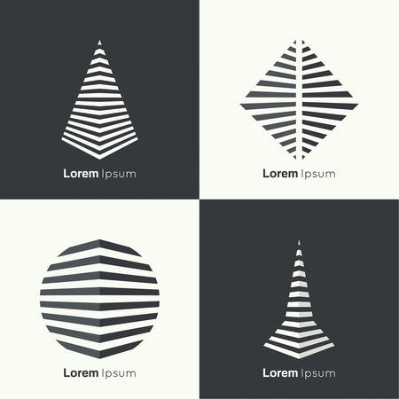 formes géométriques abstraits