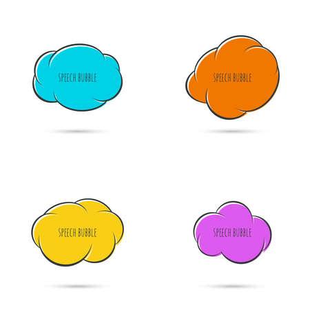 debating: Speech bubble icon.