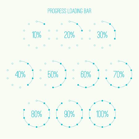 loader: Round loader bar