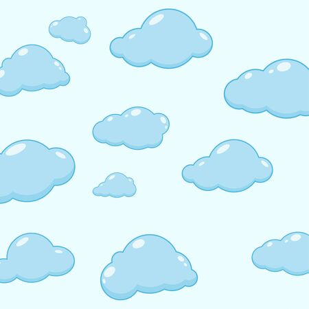 cirrus: Cloud vector icons.