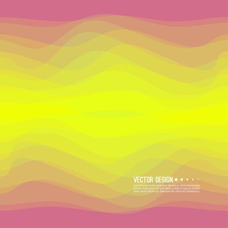 Distorted wave colorful texture vector Illustration
