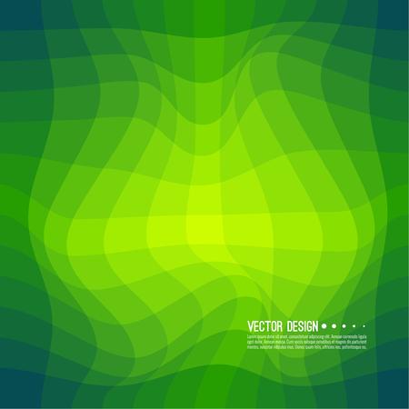 Distorted wave colorful texture vector Ilustração