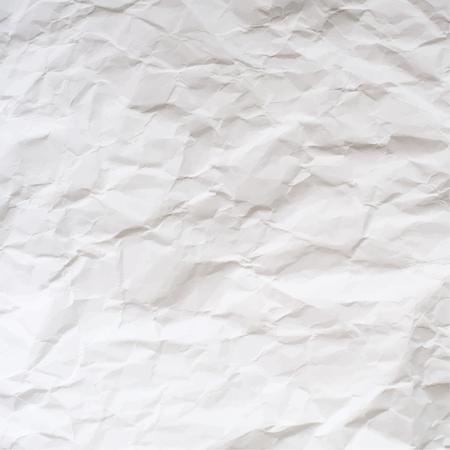 Vector texture of crumpled paper.