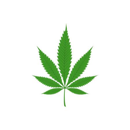 Vector illustration of marijuana Stock Photo