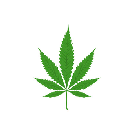 Vector illustration of marijuana Stock Illustration - 107221599