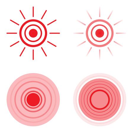 Abstract vector symbol