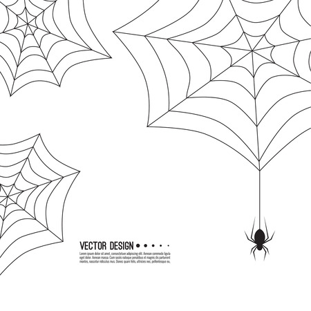 Creepy spider web.