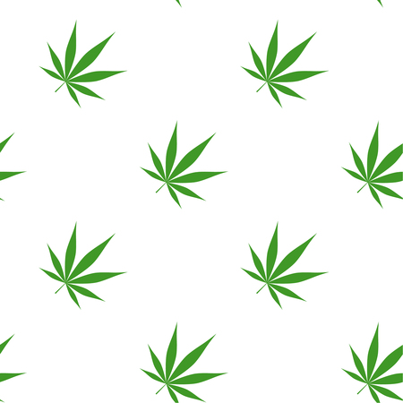 Vector illustration of marijuana Stock Illustration - 110641558
